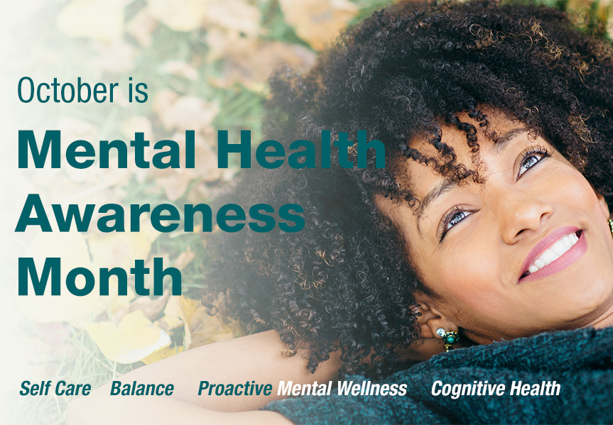 October is Mental Health Awareness Month